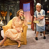 Kristin Griffith and Patricia Kilgarriff in THE FATAL WEAKNESS by George Kelly.<br /> Photo: Richard Termine