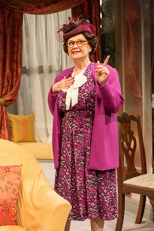 Cynthia Darlow in THE FATAL WEAKNESS by George Kelly. Photo: Richard Termine