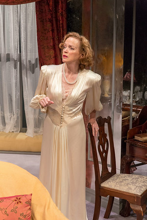 Kristin Griffith in THE FATAL WEAKNESS by George Kelly. Photo: Richard Termine