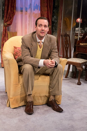 Sean Patrick Hopkins in THE FATAL WEAKNESS by George Kelly. Photo: Richard Termine
