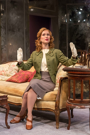 Victoria Mack in THE FATAL WEAKNESS by George Kelly. Photo: Richard Termine