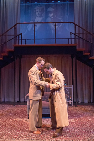 Robert David Grant and Ari Brand in THE LUCKY ONE by A.A. Milne. Directed by Jesse Marchese. Photo: Richard Termine.