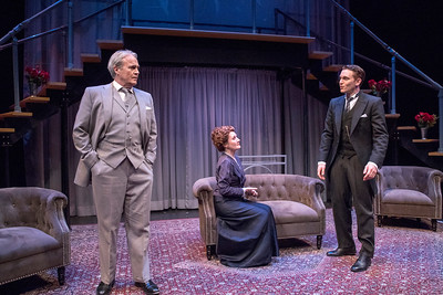 Wynn Harmon, Deanne Lorette, and Robert David Grant in THE LUCKY ONE by A.A. Milne. Directed by Jesse Marchese. Photo: Richard Termine.