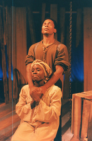 Alexandra Dumas and Bo Rucker in UNCLE TOM'S CABIN by George Aiken