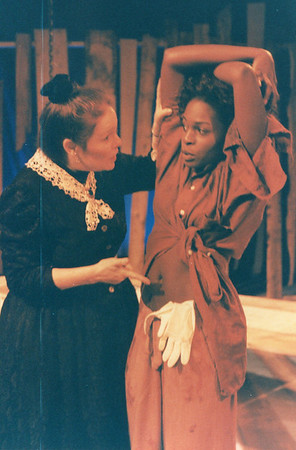Karen Lynn Gorney and Renee Alberta in UNCLE TOM'S CABIN by George Aiken