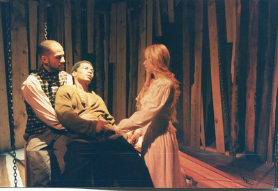 Clark Jackson, Bo Rucker and Roth Cornet in UNCLE TOM'S CABIN by George Aiken