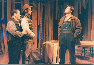 Thomas Gilpin, Clark Jackson and Christopher Newman in UNCLE TOM'S CABIN by George Aiken