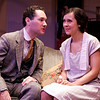 Denis Butkus and Christine Albright in WALKING DOWN BROADWAY by Dawn Powell <br /> Photo: Richard Termine