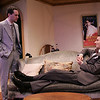 Denis Butkus and Ben Roberts in WALKING DOWN BROADWAY by Dawn Powell <br /> Photo: Richard Termine