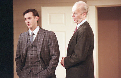Michael Moore and Lee Moore in WELCOME TO OUR CITY by Thomas Wolfe  Photo: Richard Termine
