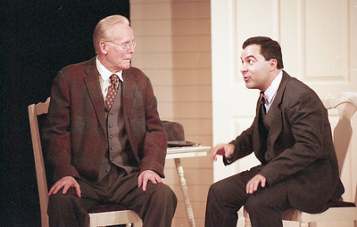 Larry Swansen and Patrick Riviere in WELCOME TO OUR CITY by Thomas Wolfe  Photo: Richard Termine