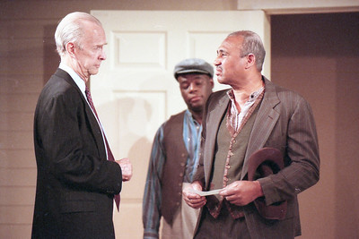 Lee Moore, Bergin Michaels and Frank Swingler in WELCOME TO OUR CITY by Thomas Wolfe  Photo: Richard Termine