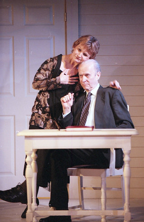 Colleen Smith Wallnau and Lee Moore in WELCOME TO OUR CITY by Thomas Wolfe  Photo: Richard Termine