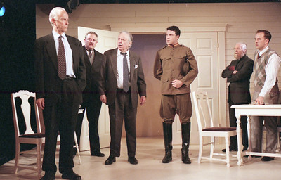 Lee Moore, David Winton, Ward Asquith, Micheal LiDondici, T.D. White and Haakon Jepson in WELCOME TO OUR CITY by Thomas Wolfe  Photo: Richard Termine