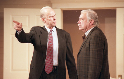 Lee Moore and Ward Asquith in WELCOME TO OUR CITY by Thomas Wolfe Photo: Richard Termine