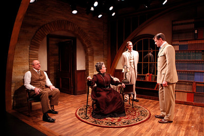 Douglas Rees, Laurie Kennedy, Marc Vietor and Rob Breckenridge in WHAT THE PUBLIC WANTS by Arnold Bennett  Photo: Richard Termine