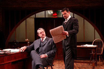 Douglas Rees and Rob Breckenridge in WHAT THE PUBLIC WANTS by Arnold Bennett  Photo: Richard Termine