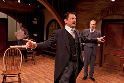 Marc Vietor, Rob Breckenridge and Douglas Rees in WHAT THE PUBLIC WANTS by Arnold Bennett  Photo: Richard Termine