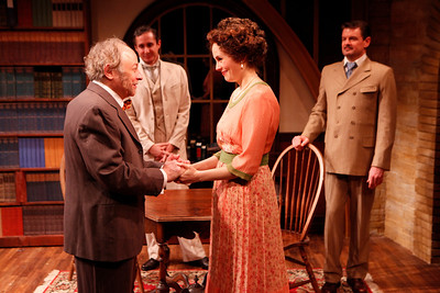 Jeremy Lawrence, Marc Vietor, Ellen Adair and Rob Breckenridge in WHAT THE PUBLIC WANTS by Arnold Bennett  Photo: Richard Termine