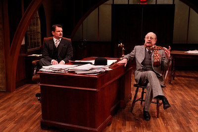 Rob Breckenridge and Jeremy Lawrence in WHAT THE PUBLIC WANTS by Arnold Bennett  Photo: Richard Termine