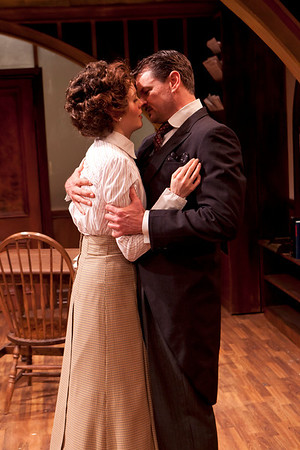 Ellen Adair and Rob Breckenridge in WHAT THE PUBLIC WANTS by Arnold Bennett  Photo: Richard Termine