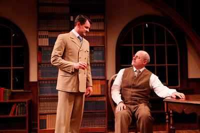 Rob Breckenridge and Douglas Rees in WHAT THE PUBLIC WANTS by Arnold Bennett  Photo: Richard Termine