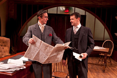Marc Vietor and Rob Breckenridge in WHAT THE PUBLIC WANTS by Arnold Bennett  Photo: Richard Termine