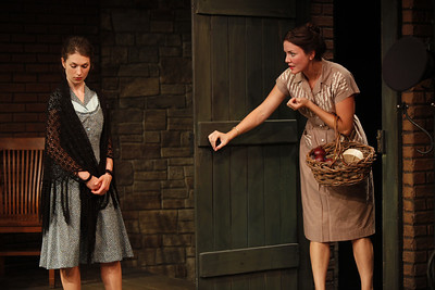 Janie Brookshire and Rosie Benton in WIFE TO JAMES WHELAN by Teresa Deevy  Photo: Carol Rosegg Photography