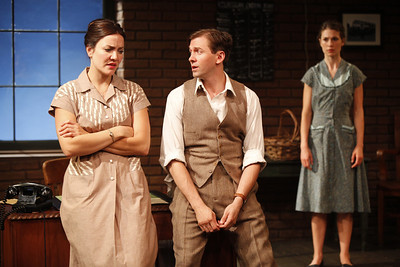 Rosie Benton, Shawn Fagan and Janie Brookshire in WIFE TO JAMES WHELAN by Teresa Deevy  Photo: Carol Rosegg Photography