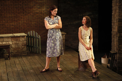 Rosie Benton and Janie Brookshire in WIFE TO JAMES WHELAN by Teresa Deevy Photo: Carol Rosegg Photography