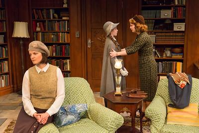 Mary Bacon, Alexa Shae Niziak, and Emily Walton in WOMEN WITHOUT MEN by Hazel Ellis. Photo: Richard Termine.