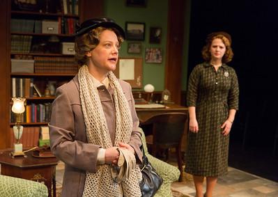 Kellie Overbey and Emily Walton in WOMEN WITHOUT MEN by Hazel Ellis. Photo: Richard Termine.