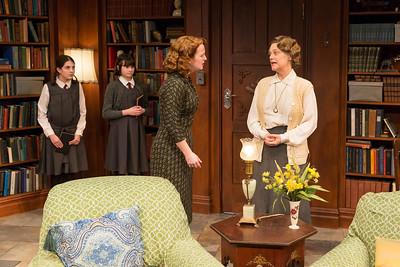 Beatrice Tulchin, Shannon Harrington, Emily Walton, and Kellie Overbey in WOMEN WITHOUT MEN by Hazel Ellis. Photo: Richard Termine.