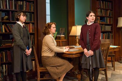 Shannon Harrington, Emily Walton, and Beatrice Tulchin in WOMEN WITHOUT MEN by Hazel Ellis. Photo: Richard Termine.