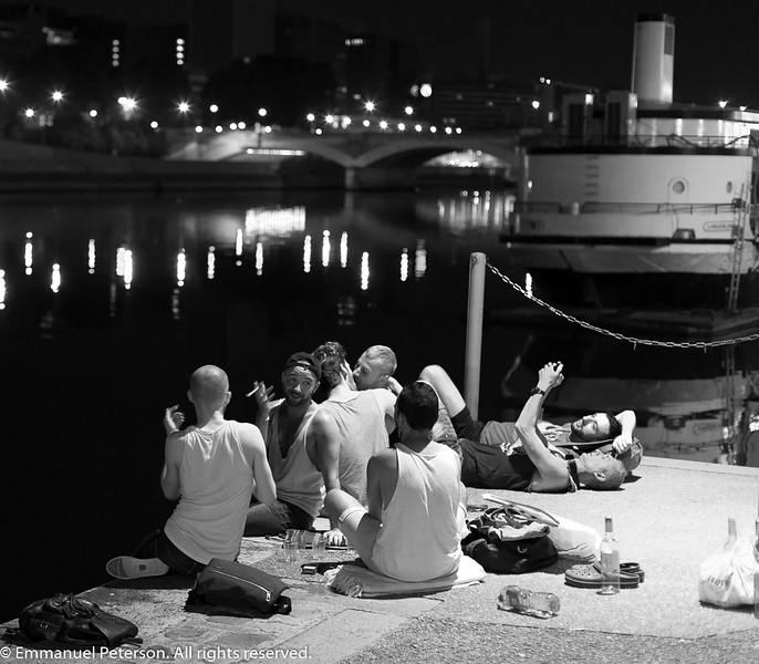 2 am, Quai Saint Bernard