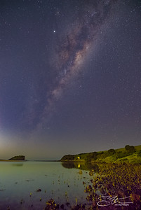 Milky Way over Minnumurra