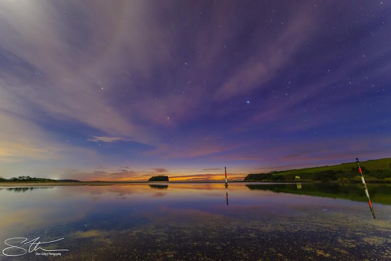 Moonbow over Minnumurra