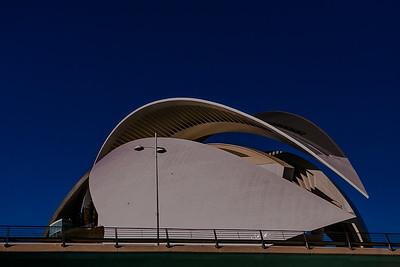 La Ciudad de las Ciencias, Valencia - España