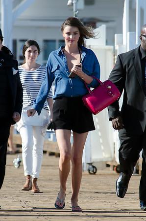 Miranda Kerr spotted in Malibu