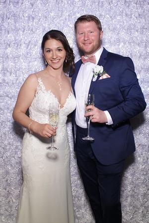 Courtney and Jeff's Salvatore's Wedding Mirror Booth