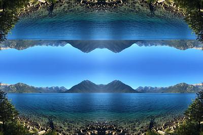 Tranquil Lake Traful