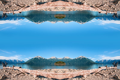 The expanse of Lake Traful