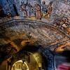 Interior de la Ermita de San Bernabé en Ojo Guareña (Burgos)