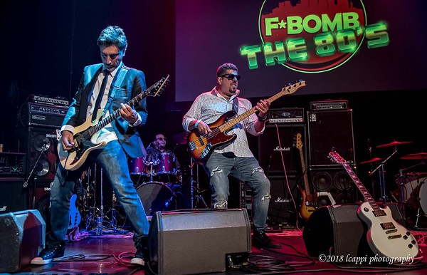 Mike Pacheco, Salchi Drums, & Carmine Gonzalez - F*Bomb Decades at the Gramercy Theatre