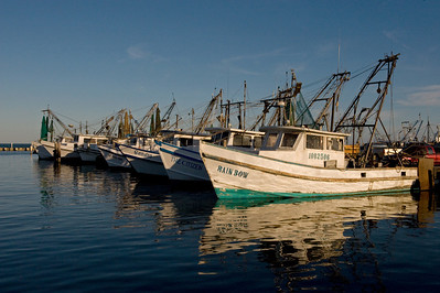 Shrimp Boats Rockport, TX