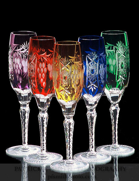 colored wine goblets 2