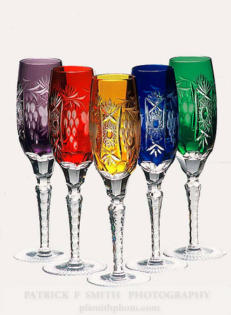 colored wine goblets 1