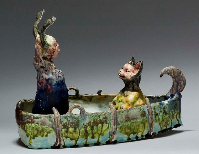 Darlene Schaper Ceramic Encausic Sculptures Darleneschaper.com
