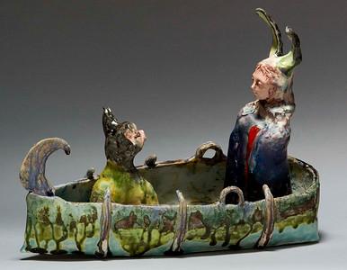 Darlene Schaper Ceramic Encausic Sculptures