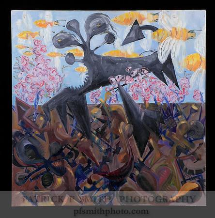 """""""Berserker"""" - Oil Painting"""